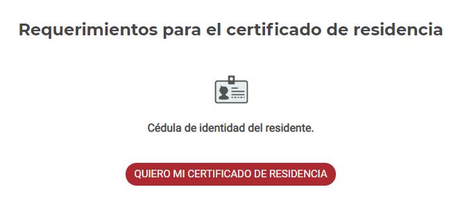 certificado de residencia afp